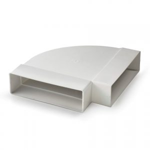 De goedkoopste glwg631 | Nedco pvc bocht 90° plat t.b.v. keukenventilatie koop je voor de beste en scherpste prijs bij Smolders B.V.