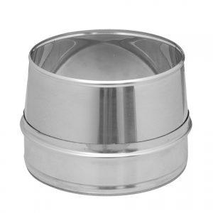 De goedkoopste rookg430 | Dinak SW rookgasafvoer eindstuk conisch koop je voor de beste en scherpste prijs bij Smolders B.V.